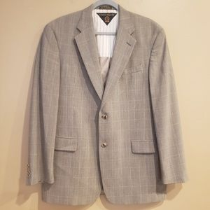 Tommy Hilfiger 100% Worsted Wool Blazer